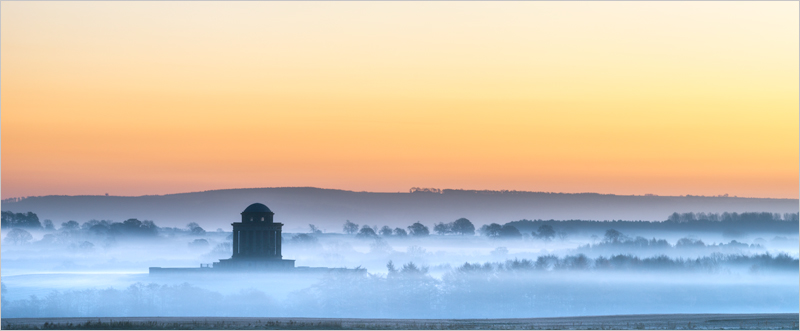 Misty Dawn, Castle Howard